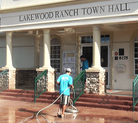 Lakewood Ranch Town Hall Pressure Cleaning