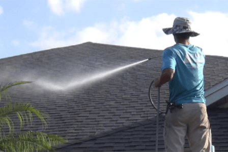 Roof Cleaning near Lakewood Rnach